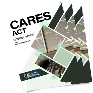 CARES Act | Monthly Report | As of September 28th, 2020